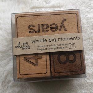 Whittle big moments wood age blocks